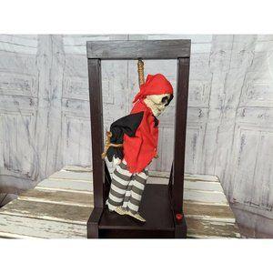 Magic power hanging skeleton animated Halloween de